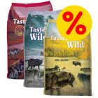 3 x 6 kg Taste of the Wild hundfoder i blandpack